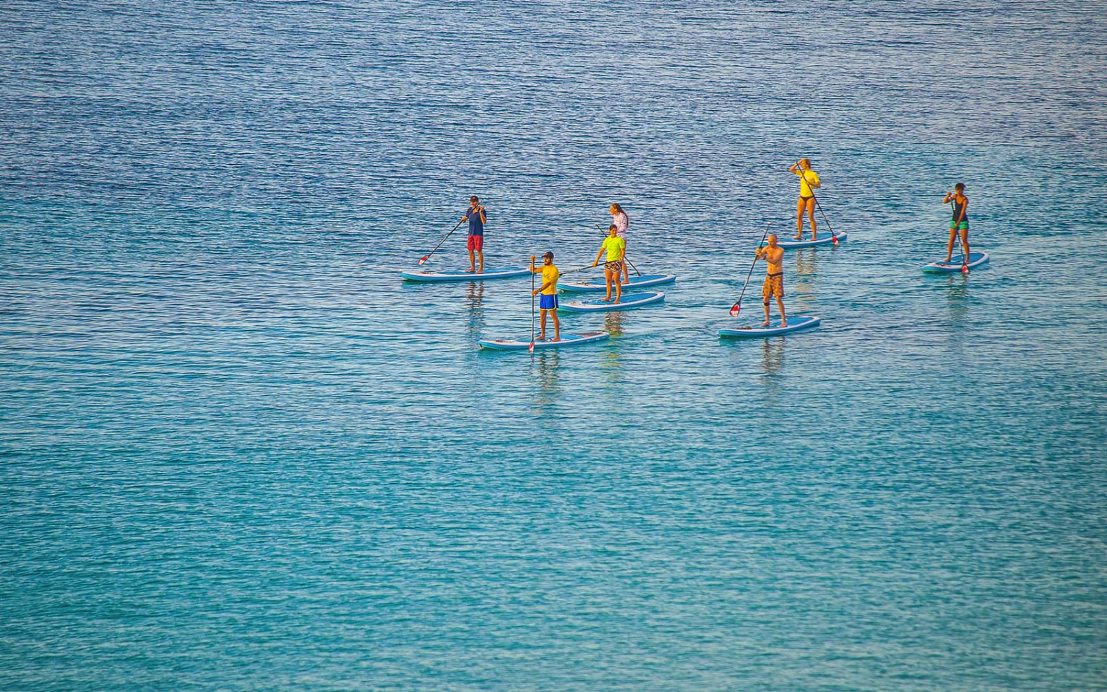 SUP stand up paddle Sardinia Alghero Pintadera activities