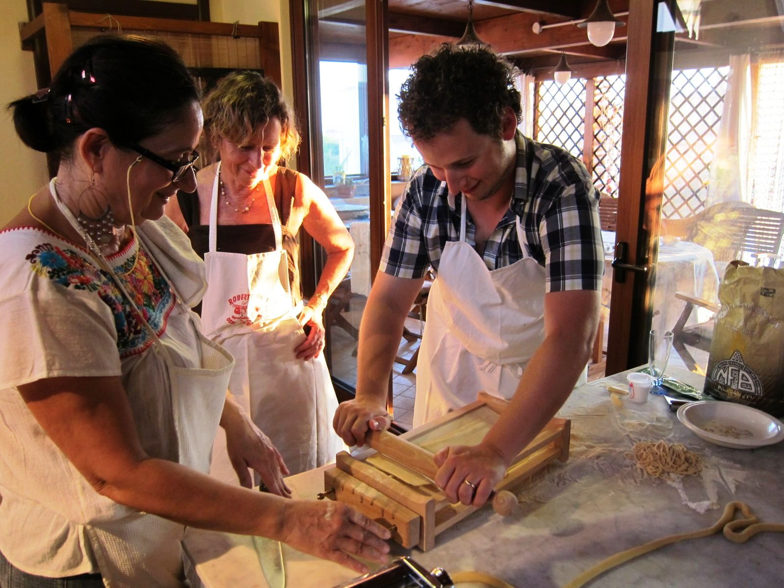 Pintadera Italian cooking course